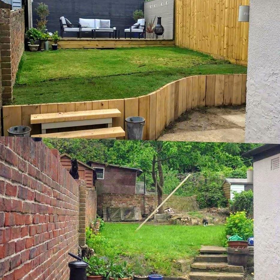landscaping-JY JS Garden Before After